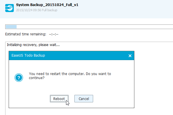 Windows Backup with the Excellent EaseUS Todo Backup 33