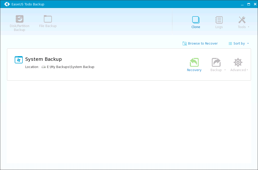 Windows Backup with the Excellent EaseUS Todo Backup 40