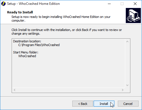 Analyze Blue Screens on Windows with WhoCrashed 02