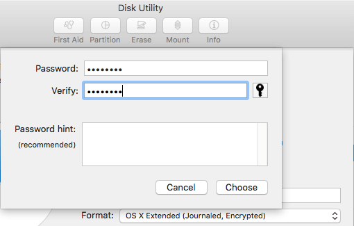 Disk Utility on Mac OS X - Manage Disk - Partition Disk - Resize Partition - Create Partition 11