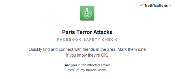 Facebook Safety Check - See if your Friends in Paris are Safe 01