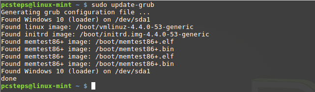 How To Change GRUB boot order in Linux Mint / Ubuntu