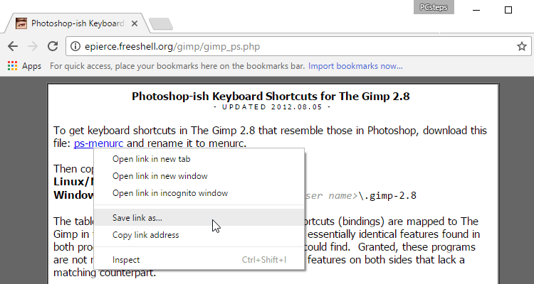 How to Make GIMP Look and Work like Photoshop | PCsteps com