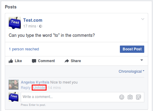 Facebook Comments how To Disable Comments on a Facebook Page, with a Trick