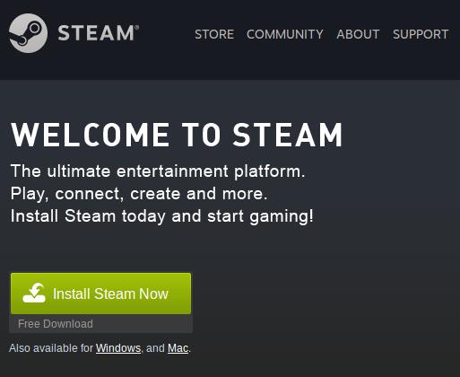 install steam