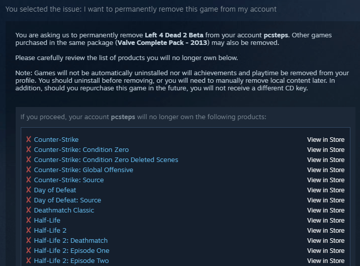 how to hide a game on steam