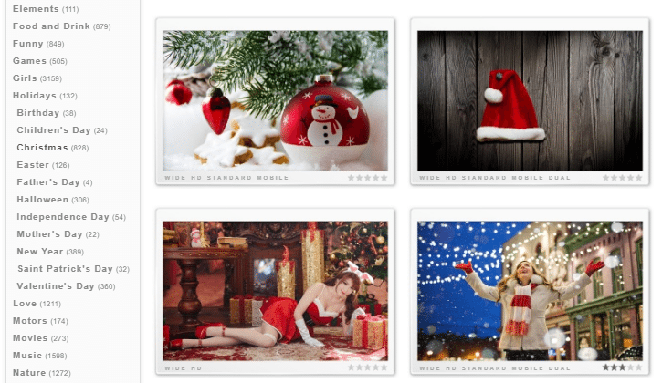The Best Christmas Wallpapers for PC Smartphone Tablet 01