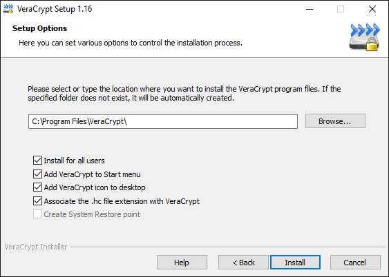 File Encryption Disk Encryption with VeraCrypt 03
