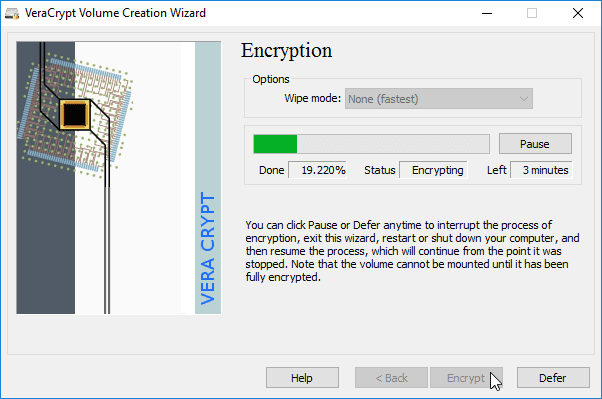 File Encryption Disk Encryption with VeraCrypt 30