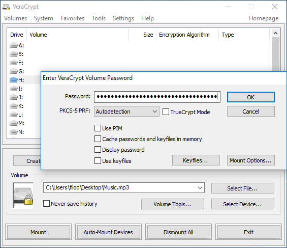 File Encryption Disk Encryption with VeraCrypt 36