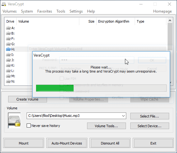 File Encryption Disk Encryption with VeraCrypt 37