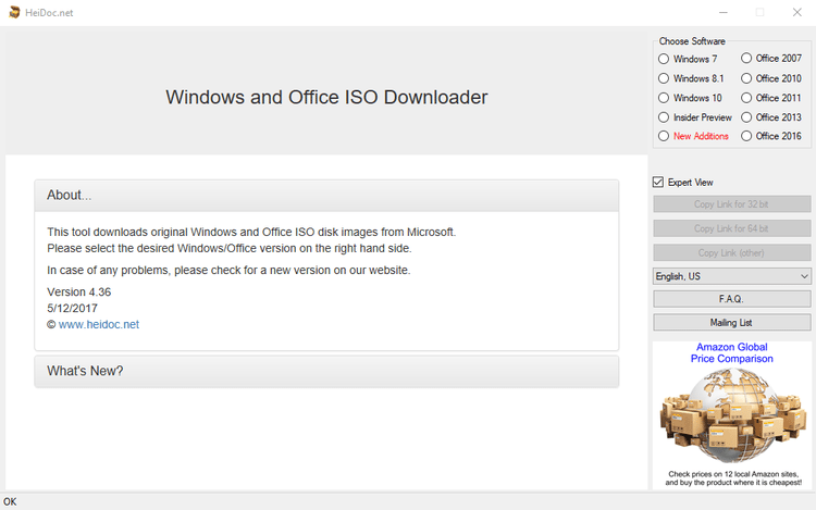 Download Windows 7 ISO with the Windows ISO downloader