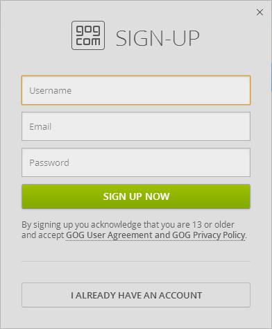 GOG Galaxy - A DRM-Free Steam Alternative in Beta 04