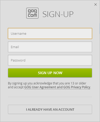 GOG Galaxy - A DRM-Free Steam Alternative in Beta | PCsteps com