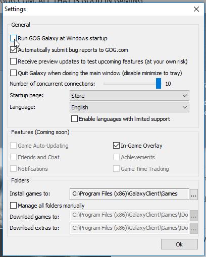 GOG Galaxy - A DRM-Free Steam Alternative in Beta 08