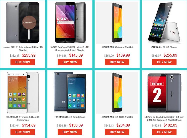 Best June Smartphone Deals on GearBest 10