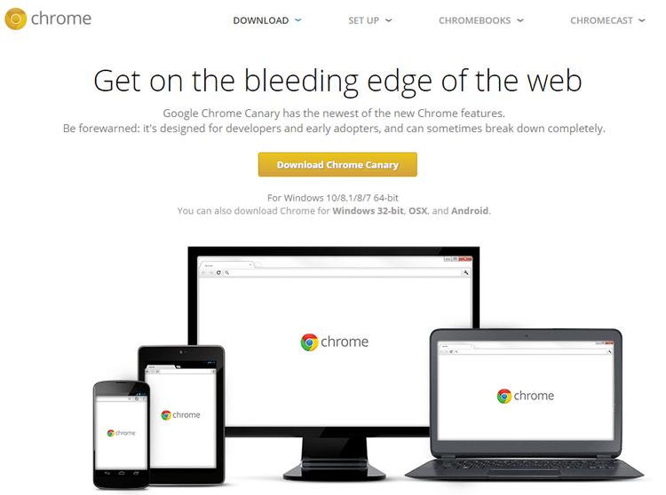 Chrome Canary vs Chrome and the Chrome Channels | PCsteps com