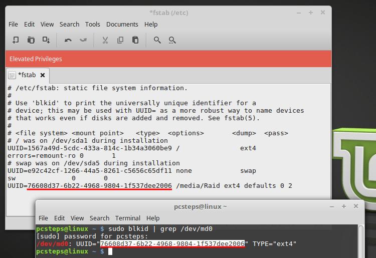 How To Create a Software RAID 5 in Linux Mint / Ubuntu | PCsteps com
