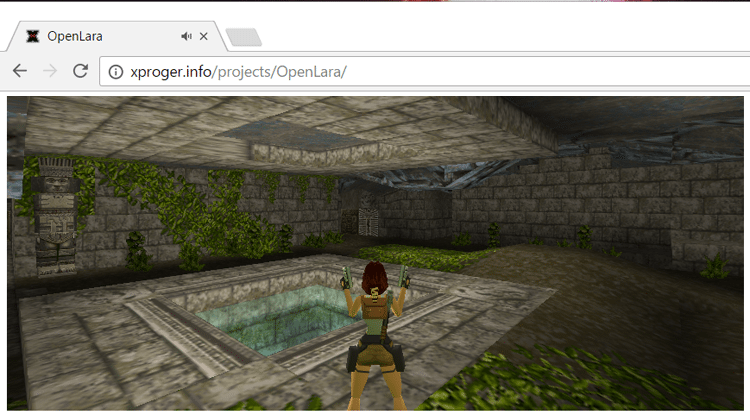 Play Every Level Of The Original Tomb Raider In Your Browser