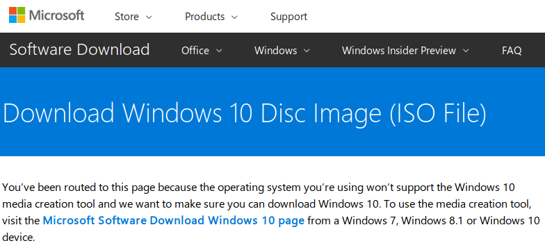 is windows 10 iso file free