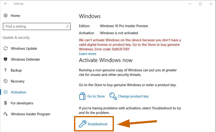 how to find windows 10 digital license product key