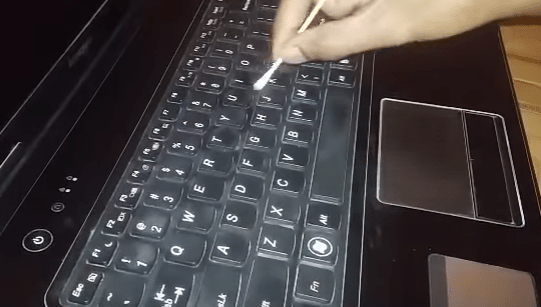 how to remove laptop keyboard