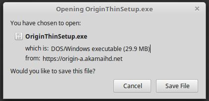 How to Install Origin on Linux Mint / Ubuntu (June 2017
