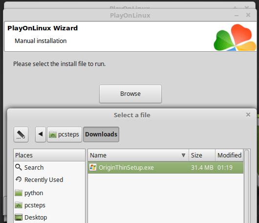 How to Install Origin on Linux Mint / Ubuntu (June 2017) | PCsteps com