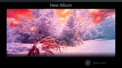 Create A Beautiful Video Remix With The New Photos App In Windows