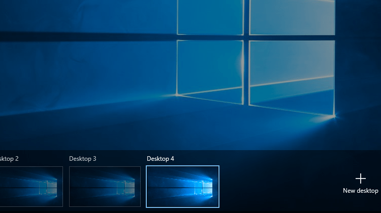 How To Use Virtual Desktops On All Versions Of Windows