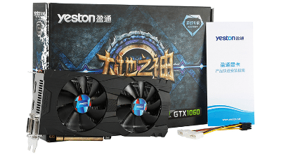 Yeston GTX 1060 - The Cheapest GTX 1060 in the Market