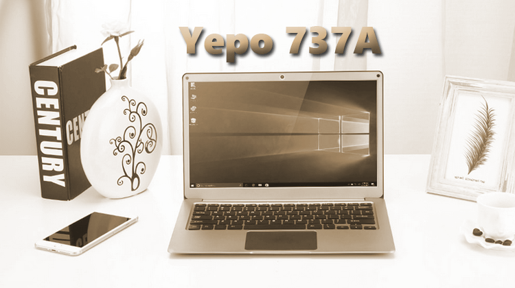 Yepo 737A Review - A Small And Stylish 13'' Laptop