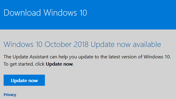 How To Download Windows 10 October 2018 Update ISO | PCsteps com