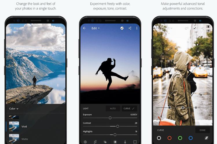 Adobe Mobile Roundup: Photoshop Express, Fix, Mix, Sketch, Lightroom