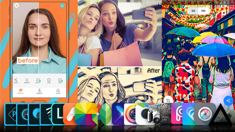 The Best Smartphone Photo Editing Apps, on Android and iPhone