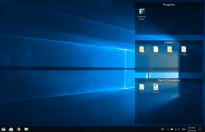 How To Organize The Windows Desktop Pcsteps Com