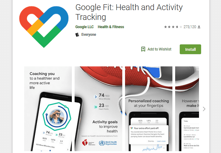 best fitness app for Android