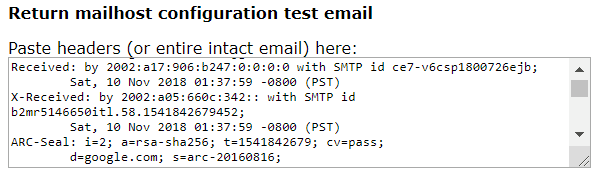 SpamCop Whitelist our email