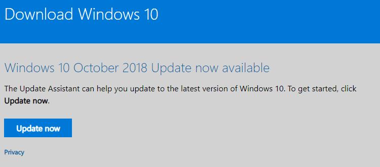 new windows update issues november 2018