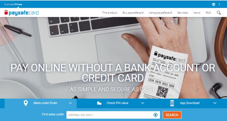 prepaid paysafecard