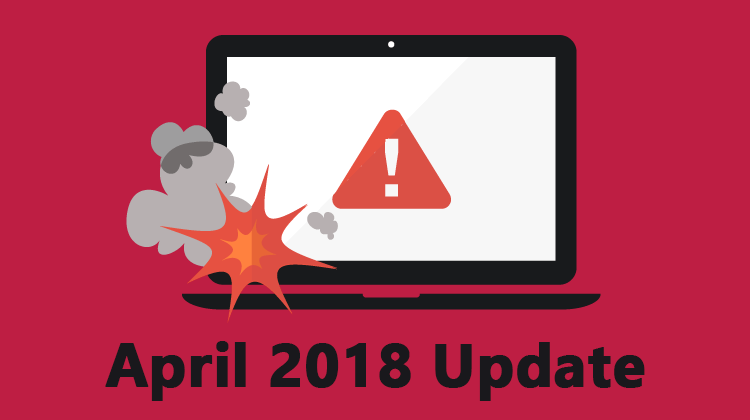 Common Windows April 2018 Update Problems | PCsteps com