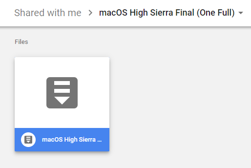 Run a macOS High Sierra Mac OS X Virtual Machine on Windows